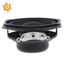 Dolity-haut-parleur carré   Haut-parleur 40mm 4Ohm 3W gamme complète, bord en caoutchouc 16 bobines