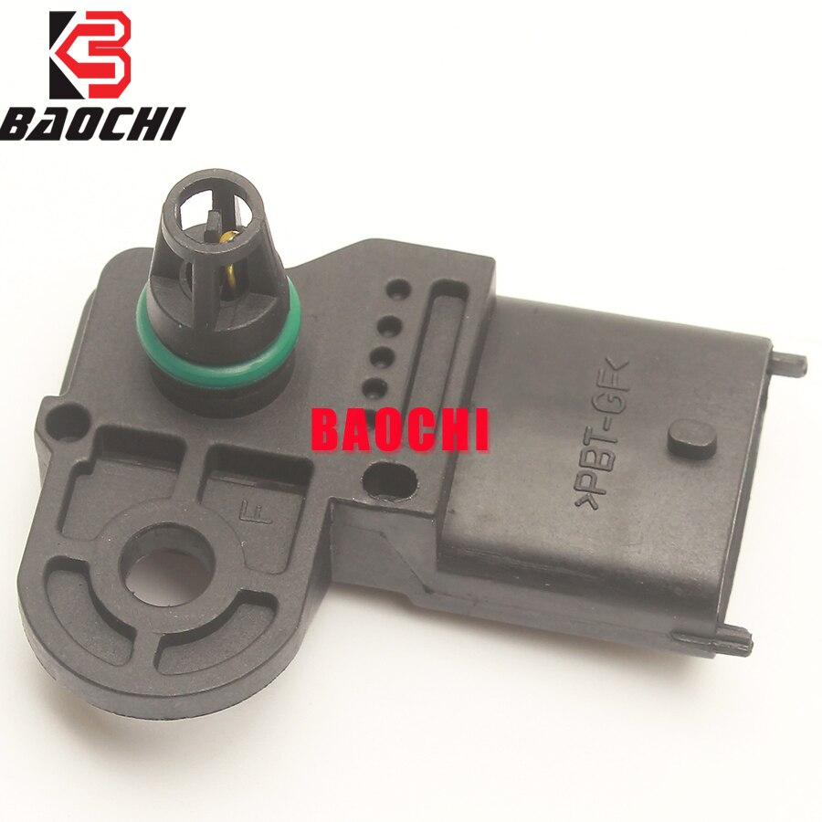 5PC 46533518 261230030 MAP Intake Air Pressure Sensor for Fiat Linea Siena Stilo Proton Gen Persona Satria Opel Vauxhall Panda