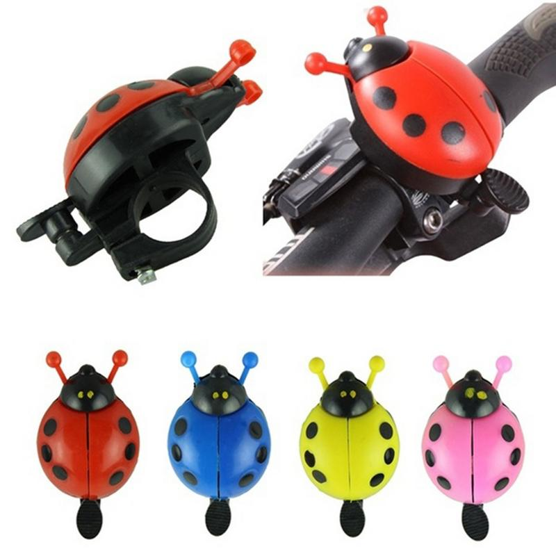 Cute Bicycle Bell Bike Bell Cartoon Cycling Bell Outdoor Ridding Accessories Sports Bike Ring Child Riding Equipment недорого