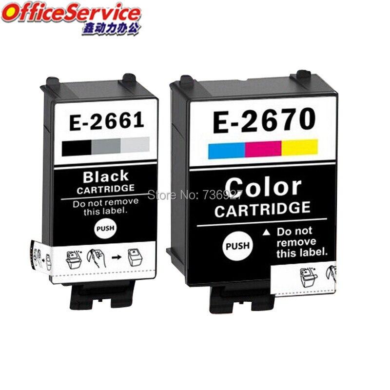 T2661 T2670 Compatible Ink Cartridges For Epson WorkForce WF-100W WF-100 inkjet printer, in European market