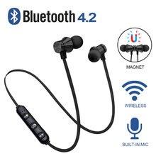 Écouteurs sans fil Bluetooth casque écouteurs magnétiques étanche Sport avec micro pour iPhone Sony Xiaomi Meizu casque de jeu