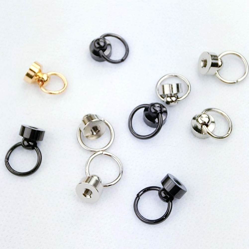 5Pcs/Lot Luggage Bag Buckle Tongs Snap Hook Ring With Screws for  DIY Bag Parts Accessories
