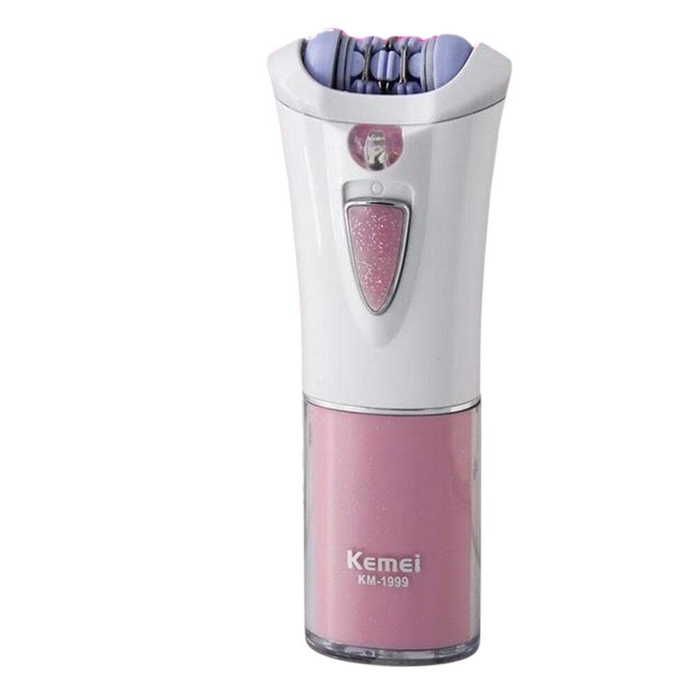 Depiladora eléctrica Kemei km-1999 para mujer, depilación corporal femenina
