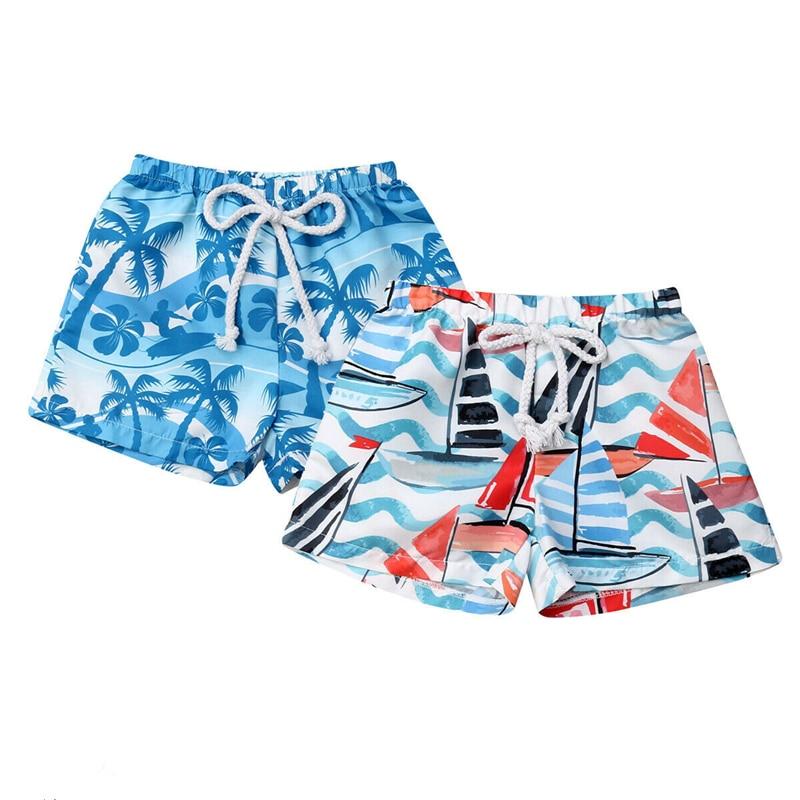 Boys Swimming Trunks Hot Summer High Waist Baby Boy Swimming Trunks Swim Shorts Beach Wear Swimwear Bathing Suit Children Shorts