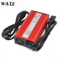 63V 2A литиевая батарея зарядное устройство для автомобильного аккумулятора Carregador Bateria 55,5 V Автомобильное зарядное устройство Li-Ion Lipo батарея
