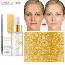 Luxe 24k Gold Anti Rimpel Essentie Hyaluronzuur Lift Gezicht Crème Hydraterende Serum Facial Anti Aging Whitening Huidverzorging