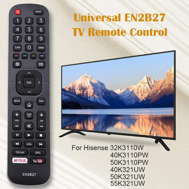 EN2B27 ТВ пульт дистанционного управления Замена для Hisense 32K3110W 40K3110PW 50K3110PW 40K321UW 50K321UW полезный контроллер домашний поставщик