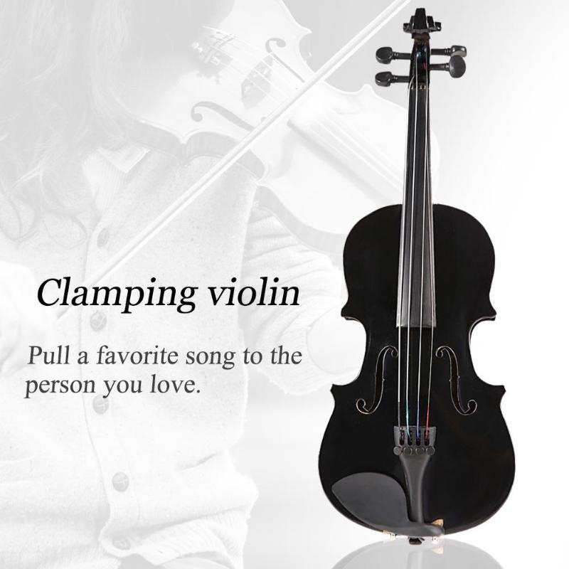 Violín para principiantes de 1/8, violín de arce antiguo mate de alta calidad, violín acústico hecho a mano, caja de violín, arco colofonia, instrumento Musical