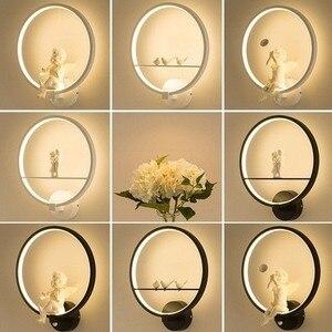 Modern Black White LED Wall Lamps Bird Angel Lovers Kids Aluminum Decorative Interior Living Room Dining Room Corridor Lighting