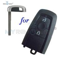 Remtekey HC3T-15K601-DB Smart key case 2 button for Ford EcoSport 2018