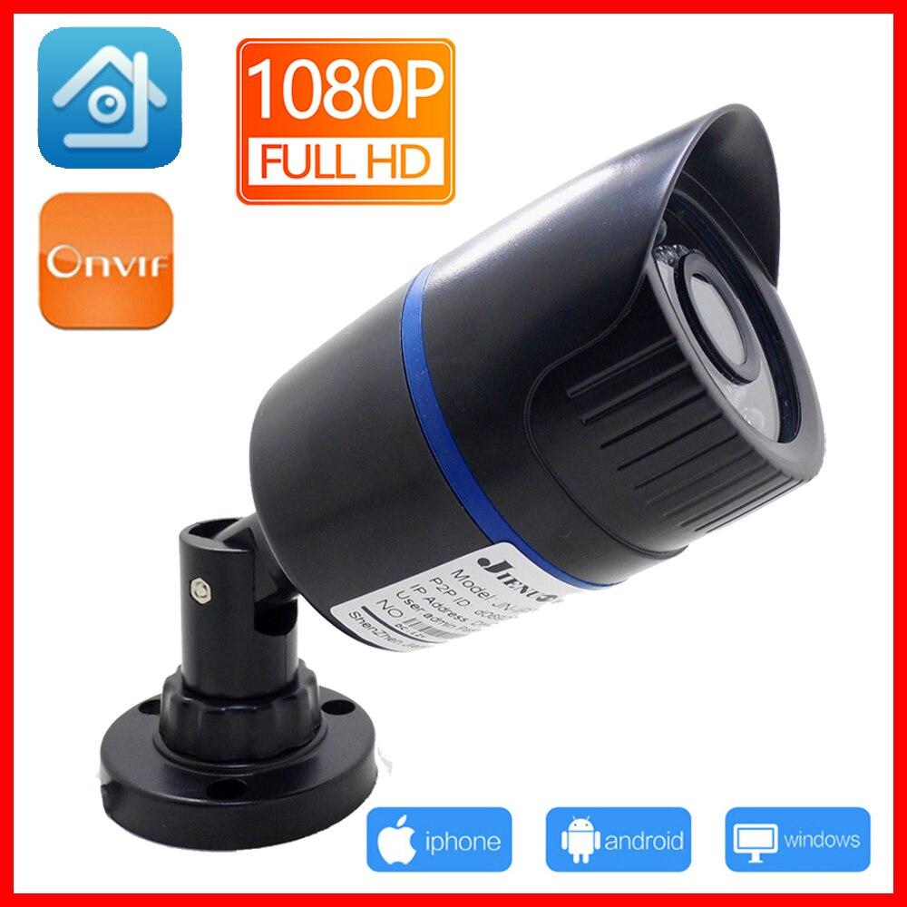 POE Network Ip Camera HD Cctv Security Outdoor Waterproof IPCam Infrared Home Surveillance 1080P 960P 720P 701AR-A JIENU