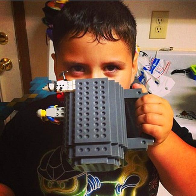 10 colores, 350 ml, taza de café creativa Taza de leche, tazas de ladrillo integradas, soporte de agua potable para el diseño de bloques de construcción LEGO