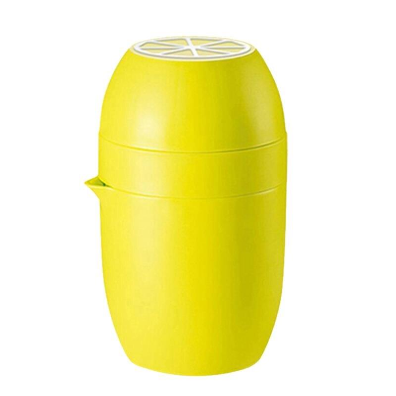 מיני הדר מסחטה לימון כתום מסחטה ידנית מכסה סיבוב עיתונות מיץ כוס עבור טרי תפוזים לימון ליים ואשכוליות