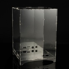 DIY 8x8x 8 512 LED 3D Licht Cube Kit Acryl Fall Musik Spektrum Shell Fall Für Werbung Display Elektronische Produktion shell