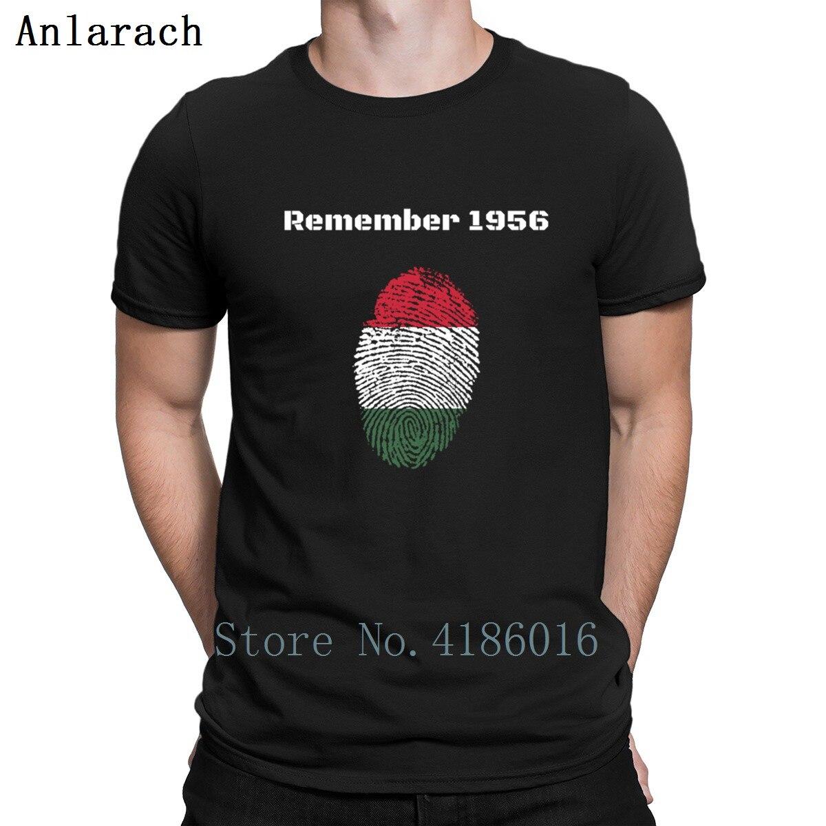 Hungria 1956 camisetas Kawaii algodón crear Pop Top Tee hombres camiseta verano regalo Camiseta básica ocio S-3xl