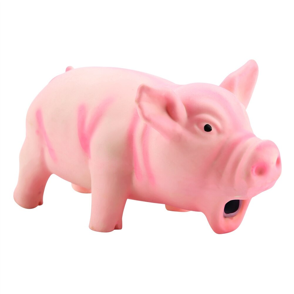 100% marca nuevo lindo Cerdo. Squeak de látex, juguetes masticables para mascotas para chillador para perro entrenamiento masticar productos para mascotas