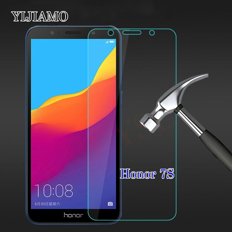 2.5D Arc Tempered Glass On For Huawei Honor 7s Screen Protector For Huawei Honor7s Glass 9H Explosio