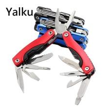Multitool Pliers Hand Tool Screwdriver Kit Portable Stainless Multitool Folding Knife Pocket Folding Knife Pliers Fishing Tool
