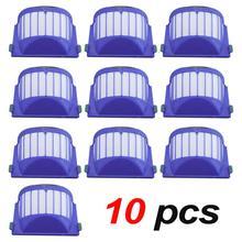 10 Pack Hepa Filter Vacuum Cleaner Kit For iRobot Roomba 500, 600 Series (550 560 595 585 564 650 620 675 690 680 660 650)