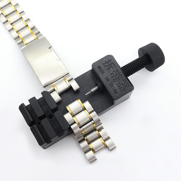 Watch Band Link Adjust Slit Strap Bracelet Chain Pin Remover Adjuster Repair Tool Kit For Men/Women