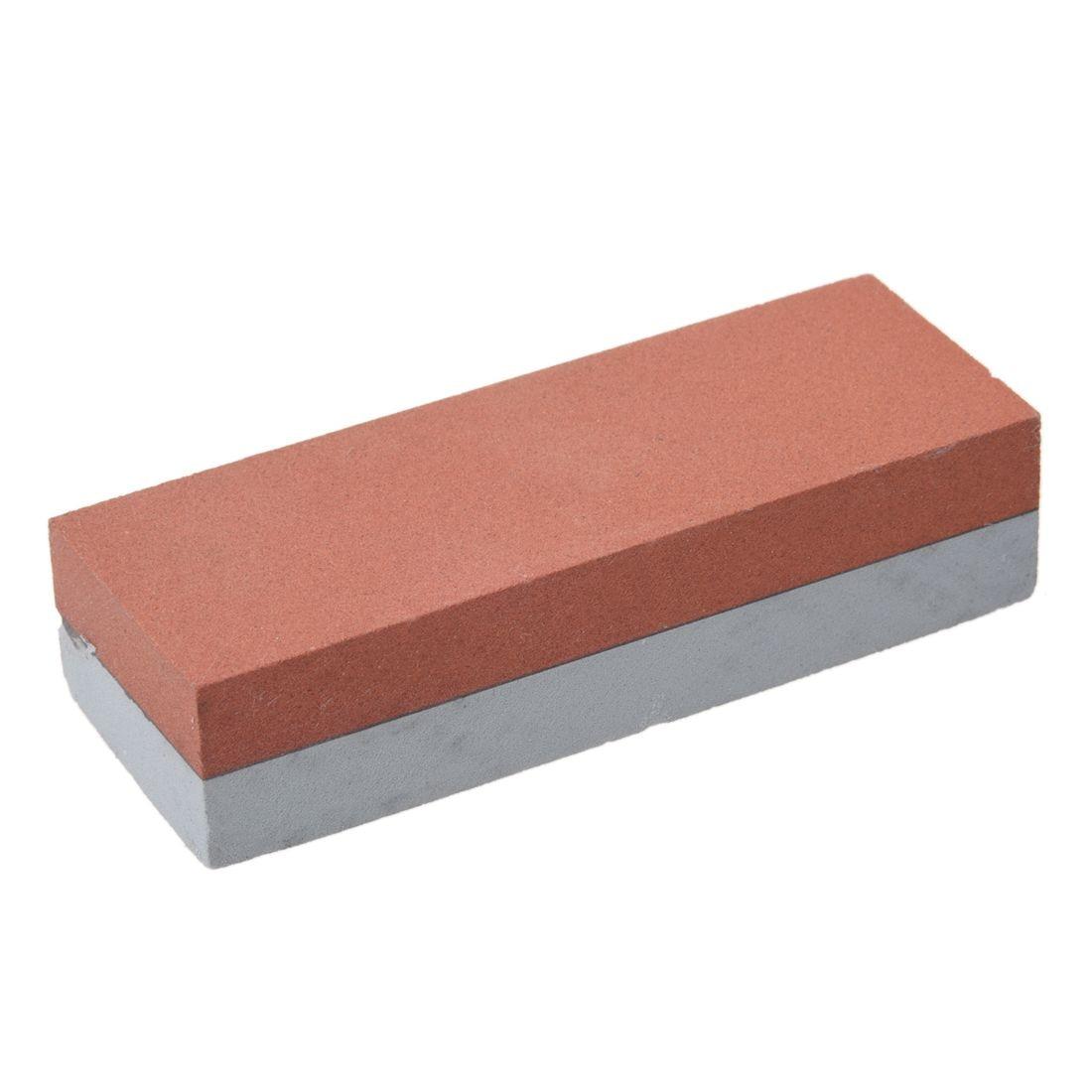 Combinación de afilador de cuchillos de doble cara, piedra de afilado, óxido de alúmina y piedra de afilar, piedras compuestas de carborundo
