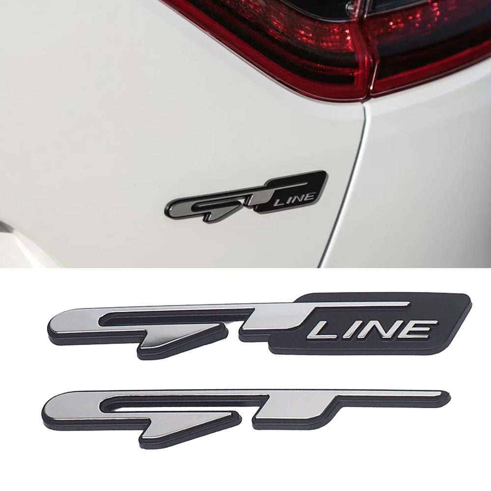 Стерео 3D Эмблема Логотип GT LINE автомобильный стикер тюнинг для Kia K9 Forte Ceed Cerato RIO K3 K5 Optima Sorento Seltos аксессуары