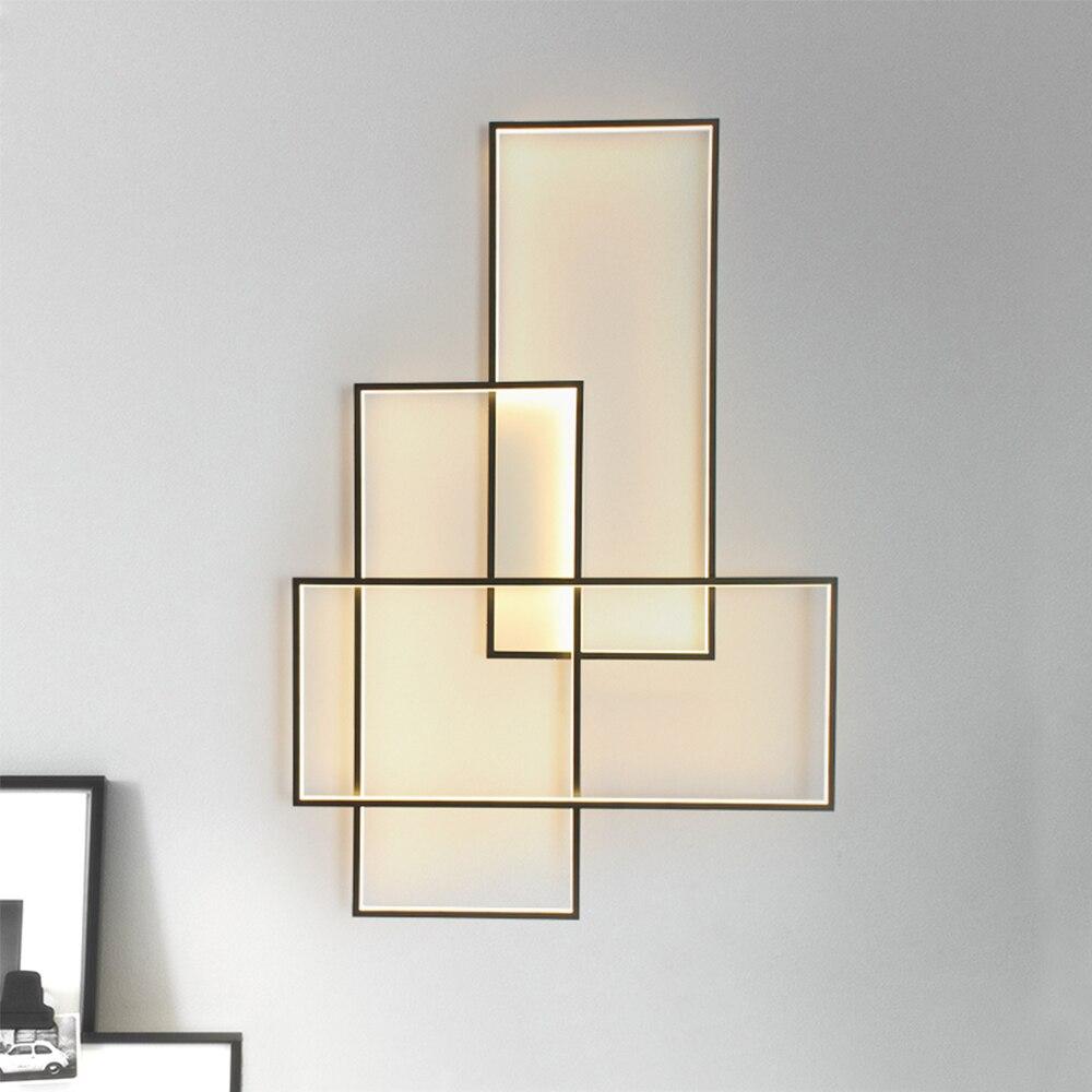 Lámpara Led de pared moderna UMEILUCE, iluminación inteligente de diseño, lámpara de pared de montaje en superficie para sala de estar, habitación, escaleras, Hotel