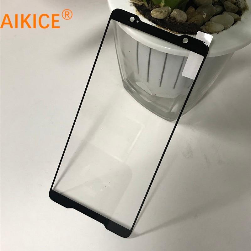 Protector de pantalla de vidrio templado para teléfono Asus ROG ZS600KL funda completa templada de cristal apto para funda Original
