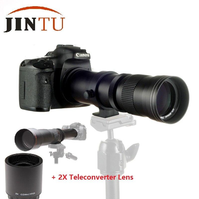 JINTU 420-1600 мм F/8,3-16 телефото зум 2X телеобъектив для Sony A99V A99 A77 A68 A65 A58 A57 A55 A37 A35 A900 A850 A580