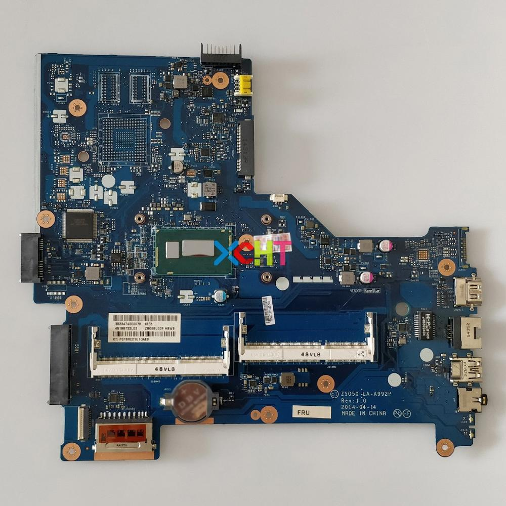 761760-501 w I5-4210U CPU ZSO50 LA-A992P para HP 15-R Series portátil PC ordenador portátil placa madre probada