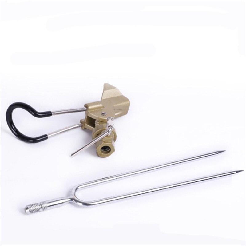 Soporte ajustable para caña de pescar de Bobing, soporte de acero inoxidable, asiento de inserción, piezas desmontables para caña de pescar de mar y río