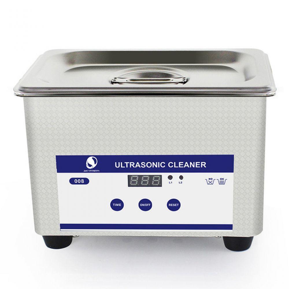 Cyfrowy ultradźwiękowy bath 0.8L 35 W 40 kHz do kąpieli do manicure biżuteria zegarki protezy środek do czyszczenia łańcucha JP-008 model