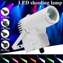 Mising 30W RGBW LED éclairage Pinspot faisceau projecteur professionnel DJ DISCO fête KTV rétro-éclairage lumière 100-240V 4 Plug