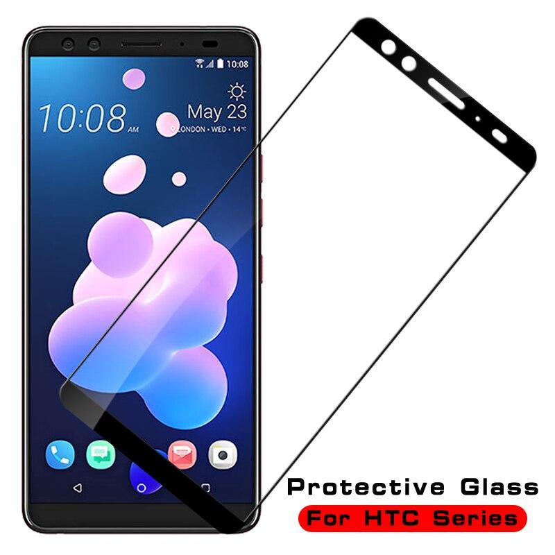 Protectora de cristal para HTC U11 U12 Plus U jugar protector de pantalla ultra de templado de vidrio de película en la U 11 12 11plus 12plus 12
