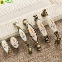 high quality creative retro furniture handles drawer cabinet pulls knobs dresser door handle knob cz 0214
