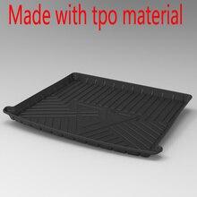 Für KIA KX KREUZ K2 KX1 CARENS K4 K5 cachet niro Wasserdichte Anti-slip gummi Auto Stamm Mat Tray boden Teppich Pad tpo Cargo-Liner