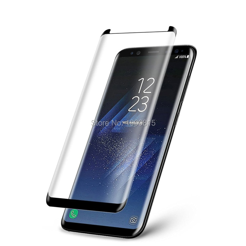 3D Curved Case Friendly Tempered Glass For Samsung Galaxy S8 Protective Film For Samsung S8 Plus Scr