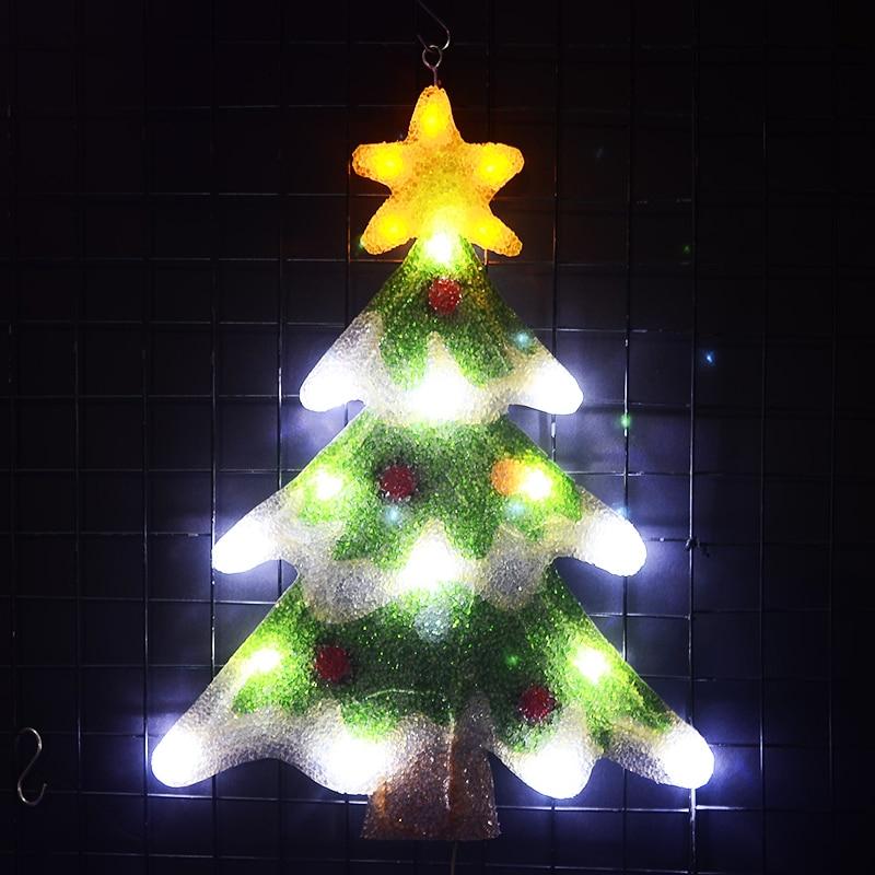 2D christmas tree motif lights - 21.3 in. Tall led decoration xmas tree light home decoration party light navidad 2018