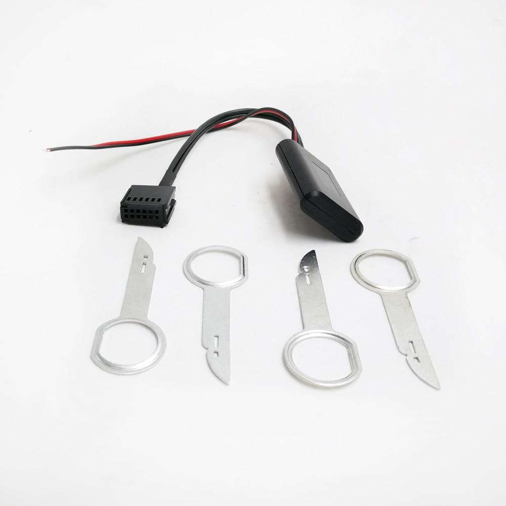 Автомобильный радиоприемник Biurlink 6000CD, модуль Bluetooth, кабель для AUX-IN, беспроводной аудиоадаптер для Ford Focus Mondeo 6000 CD