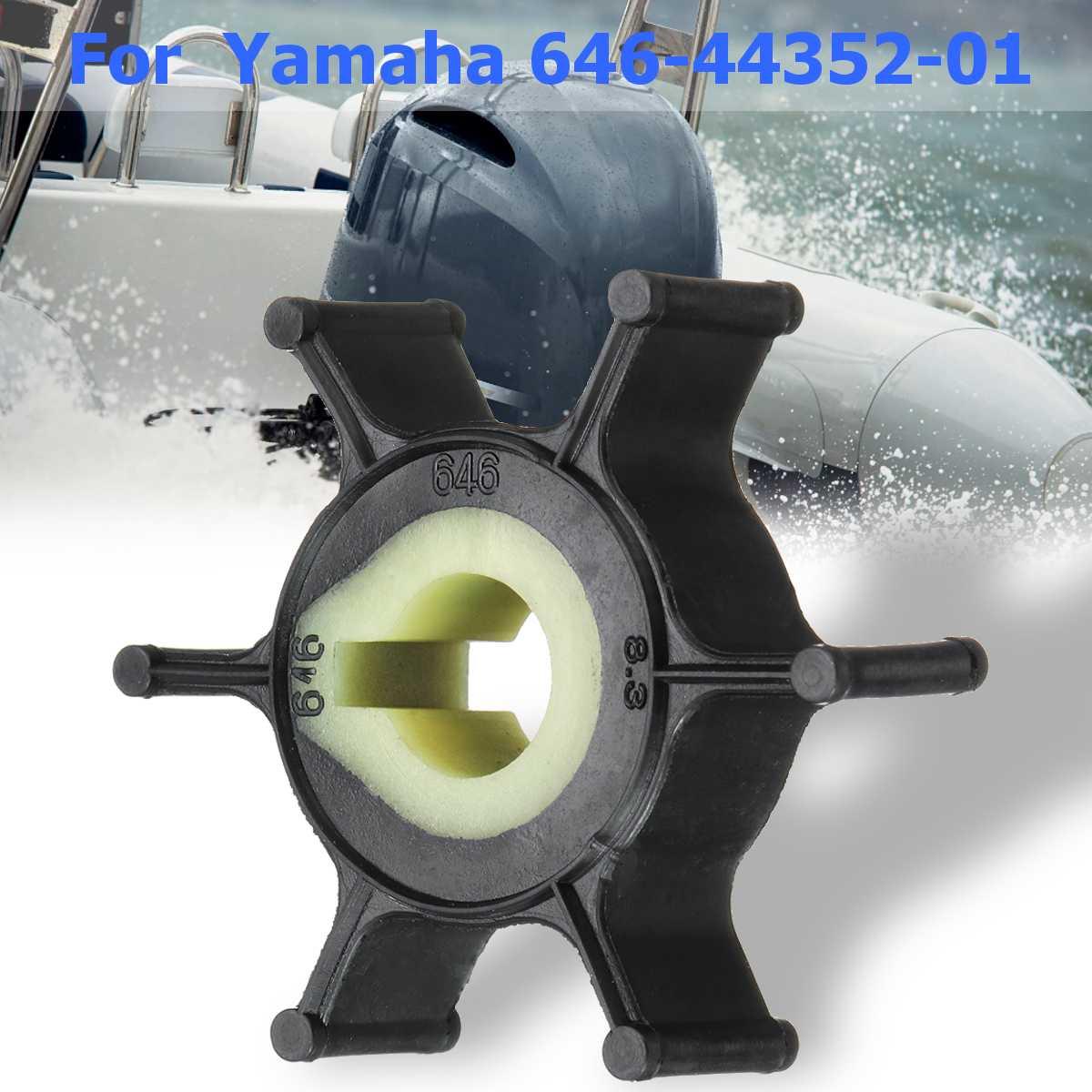 Motor fueraborda del barco 646-44352-01 impulsor de bomba de agua de reemplazo para Yamaha 2HP PARA Sierra 18-3072 goma para Mariner 47-80395M