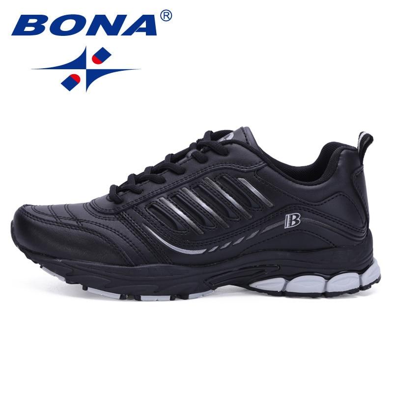 BONA-أحذية ركض مريحة للرجال ، أحذية رياضية للمشي في الهواء الطلق ، طراز جديد ، الأكثر شعبية ، للرياضة ، شحن مجاني