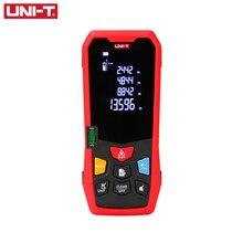 UNI-T télémètre Laser portable Distance mètre 35M 40M 50M 60M Medidor Laser ruban construire mesure dispositif règle électronique
