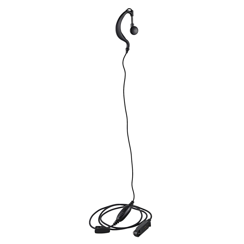 G forma del auricular Ptt para $TERM impacto Baofeng 2 Radio Bf-9700 Bf-A58 Uv-9R