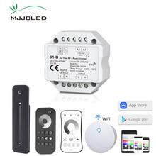 Triac LED gradateur 220 V EU 230 V 110 V AC sans fil RF Dimmable interrupteur avec 2.4G variateur à distance pour lampe à LED ampoule 220 V S1-B