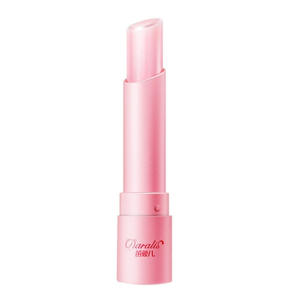 Moda feminina Hidratante Esfoliante Anti-Cracking Lip Balms Ceresina, Disosteary Malato, Cera de Abelha, etc. 3.5g