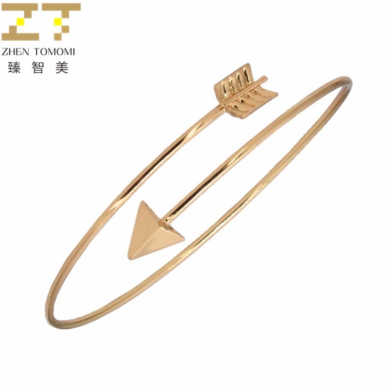 Pulseiras de prata de ouro e pulseiras de prata simples pulseira de ouro