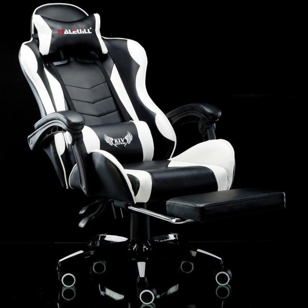 Роскошное современное вращающееся кресло руководителя для дома и офиса кожаная