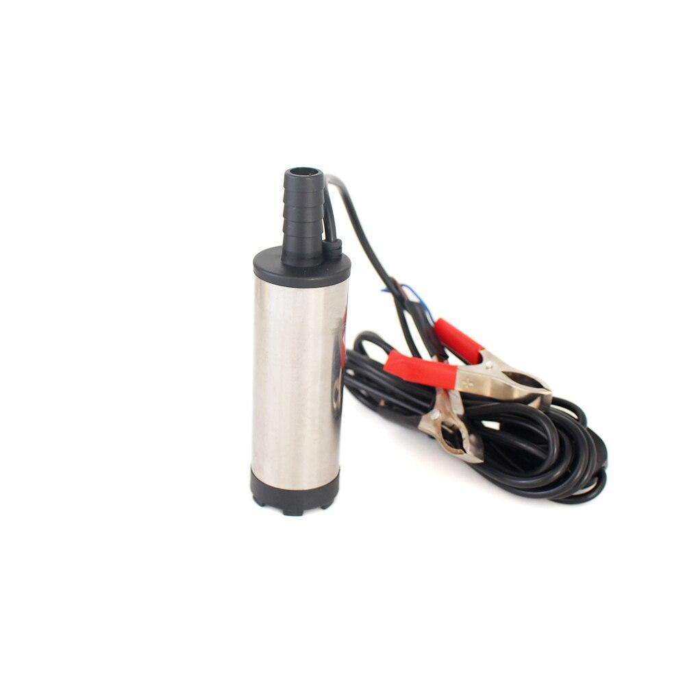 12L/min 30L/min 12V 24 V DC Elektrische Tauch Öl Pumpe Für Auto Diesel Kerosin Kraftstoff transfer Wasser Saugpumpe 12 24 V Volt