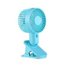 Clip fan  Protable Turn  Fan Desktop Electric Fans USB Table Stand Fans quiet and no noise adjustable  2-Speed Wind Mini Electri