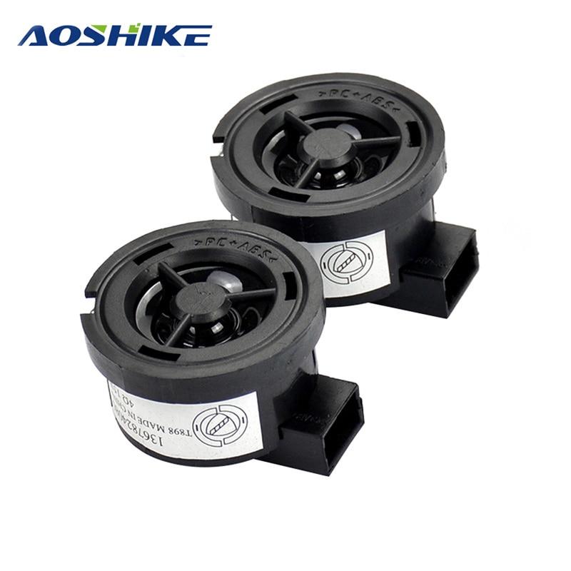 AOSHIKE-Tweeter de voiture 2 pièces   1 pouce, 4Ohm 35W, haut-parleur, PP, bassin de voiture, haut-parleur à aigus avec condensateur 4.7UF pour Ford